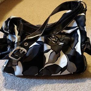 * Mondani Floral Handbag
